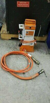 Thomas Betts 13600wg Electric Hydraulic Pump Unit 4