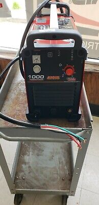Lincoln Electric Tomahawk 1000 Plasma Cutter Wtorch K2808-1 Free Electrodes