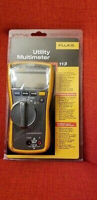 Brand New Fluke Utility Multimeter 113 Original Packaging