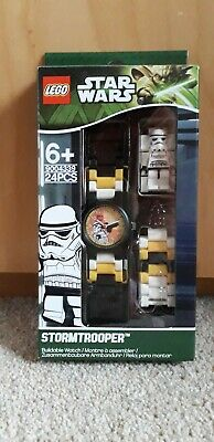 Star Wars Lego Stormtrooper  Buildable Watch Brand New