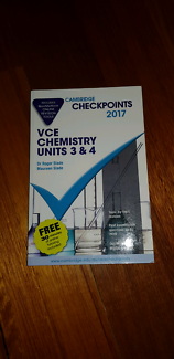 VCE Cambridge Checkpoints Chemistry 3&4 2017 + QuizMeMore