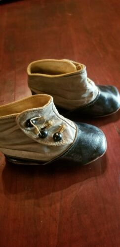 Vintage Victorian Baby Shoes