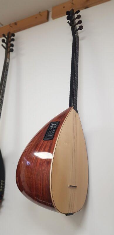 Turkish Instrument profesional short neck saz + Ecolayser