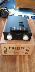 HEED OBELISK INTEGRATED AMP PLUS POWER SUPPY