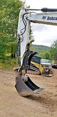 Bobcat Hydraulic Excavator Thumb Grapple Clamp Claw E80 E85 Made In Usa