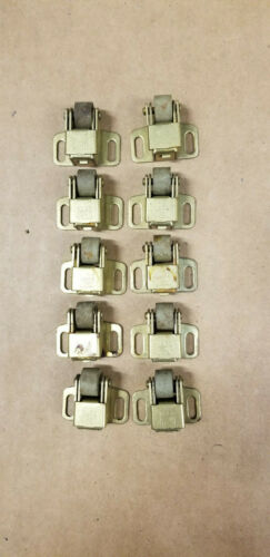 Lot (10) VTG Cabinet Door Roller Latch Catch National Lock Co NL
