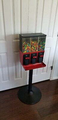 Red Vendstar 3000 Used Candy Vending Machine W Locks And Keys