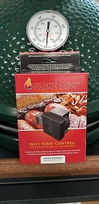 Flame Boss 400 WiFi BBQ Temp Controller Fan FB400 KAMADO Joe Big Green Egg Primo Big Green Egg Bbq