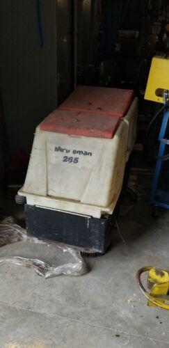 Minuteman 265 Walk Behind 24v Floor Scrubber Model #: MC265024