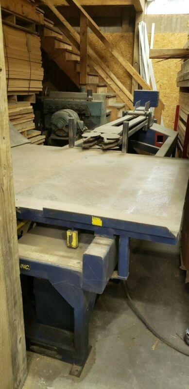 Heartland Fabricating & Machining over/under disk Pallet dismantler & nail press
