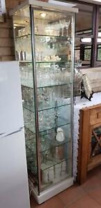 Glass Display Case Cabinet with Light Molong Cabonne Area Preview