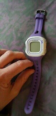 Women's Garmin Forerunner 10 GPS Running Watch Purple No charger, working(???)