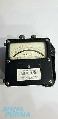 Weston Electrical Model 433 Ac Voltmeter Volts A.c. 25-500 Cycles