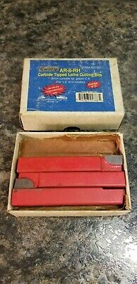 Harbor Freight Carbtip Ar-8-rh Carbide Tipped Lathe Cutting Bits Item 02788