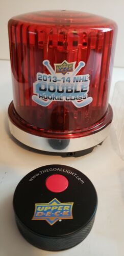 Goal Light w/ Remote Puck Hockey Upper Deck 2013-14 NEW! Case Red Beacon