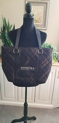 Pandora Black Quilted Tote Bag](Black Quilted Tote Bag)