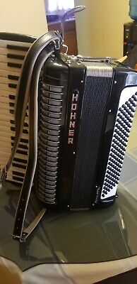 Hohner Accordion thirty-MFS, works perfectly + case, Made in Germany