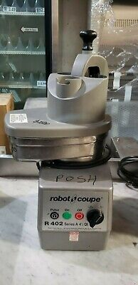 Robot Coupe R402 Food Processor With 4.5 Qt. Stainless Steel Bowl 2hp Posh-35
