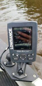 Lowrance Elite-4x DSI sounder/fishfinder w/ tranducer