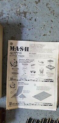 MASH 4077th Supply Train Set