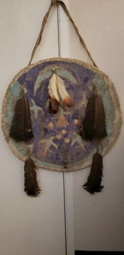 Authentic Lakota Sioux Ceremonial Shield