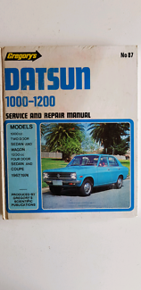 Workshop manual Datsun******1200 Baldivis Rockingham Area Preview