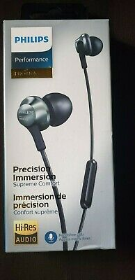 Philips Pro Wired Earbuds, Headphones with Mic, Powerful Bass, Lightweight, Hi-R