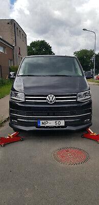 Para VW T6 Transporter Multivan Frente Falda Parachoques Alerón Borde Accesorio