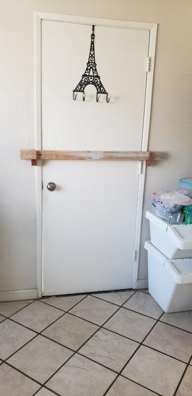Door Security Brackets Fits (2x3) or 2x4 Board