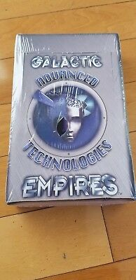 1996 Galactic Empires Series Vi Advanced Technologies Booster Display 36  Sealed