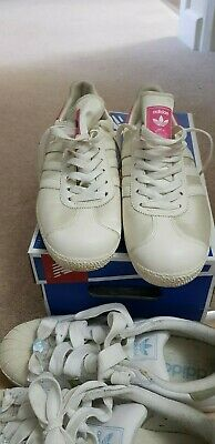 adidas gazelle I love ibiza limited edition size 7 very rear