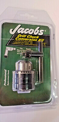 Jacobs 12 Drill Chuck Conversion Kit Keyed New Free Shipping