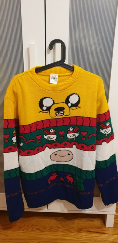 Adventure Time Ugly Christmas Sweater. Worn Once. US Medium UK Large