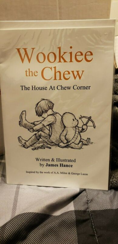 Wookiee the Chew: The House At Chew Corner by James Hance - Original Signed Copy