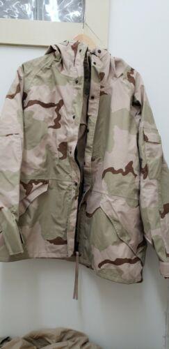 Military Issued 3 Color Desert Gortex Jacket-U-XLR