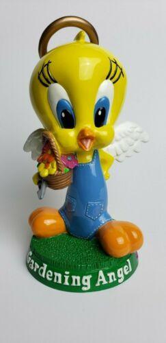 VTG 90s Tweety Bird Figure Gardening Angel Warner Bros Studio Store EUC