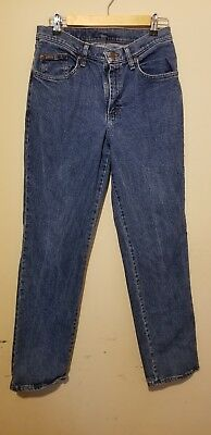 RIDERS BY LEE Mid Rise Women's Blue Jeans Size 10M Straight