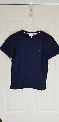 Lacoste Kids Boys Short Sleeve Shirt Size 12 (12 A - 12 YR) - NWT