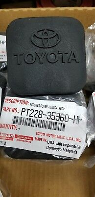 TOYOTA OEM PT22835960HP Trailer Hitch Plug Tacoma Tundra Sequoia 4Runner  Toyota Highlander Trailer