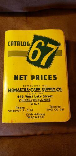 McMASTER - CARR CATALOG # 67