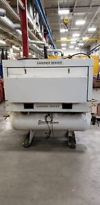 25hp Gardner Denver Rotary Screw Compressor and Parker Dryer