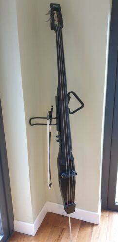 Stagg 3/4 Size Electric Double Bass with Bow and Gigbag