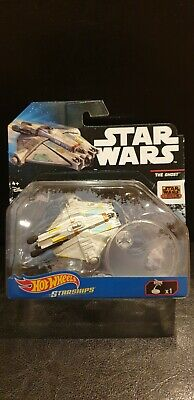 "Hot Wheels Star Wars Starships ""REBELS"" Series - The Ghost"