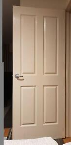 Internal doors - classic cream x 5 plus sliding door