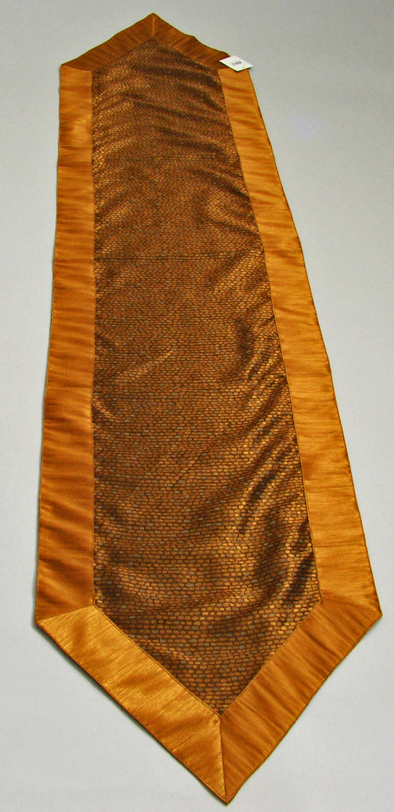 UPC 746427570398 product image for Table Runner Trimmed In Copper Color 16x72 Inches By Melrose Int. | upcitemdb.com