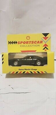 shell sports car collection Aston Martin Virage in box in good condition for sale  Shipping to Nigeria
