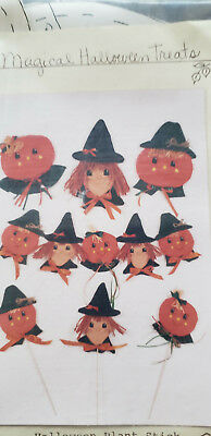 Halloween Crafts And Treats (HICKORY STICK AND CO. MAGICAL HALLOWEEN TREATS CRAFT PATTERNS ~)