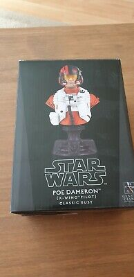 gentle giant star wars mini bust Poe Dameron