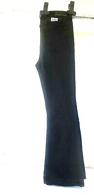 JAG JEANS THE LOLA, SIZE 34,  FLARED,  MID RISE,  BLACK