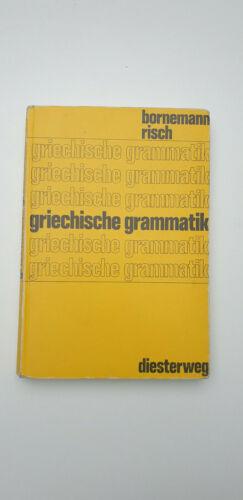 Altgriechisch Griechische Grammatik Bornemann / Risch